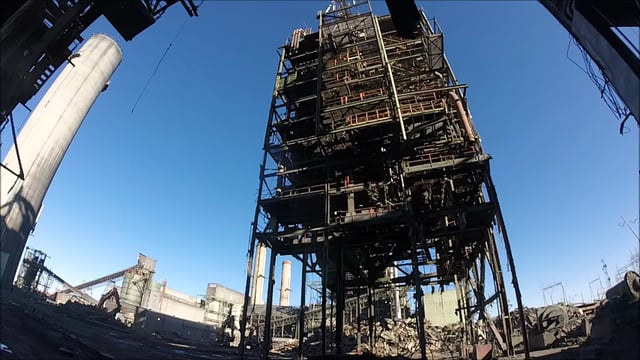 Unit-2-Boiler-Falling-at-the-APS-Four-Corners-Power-Plant-in-Fruitland-NM