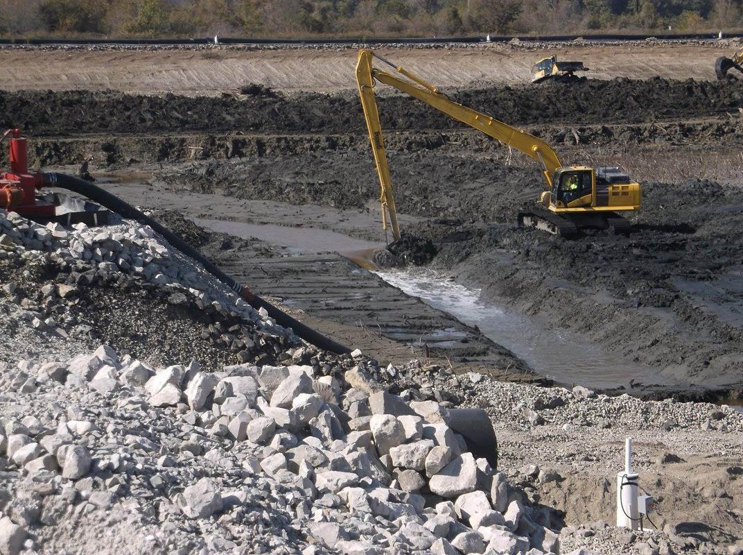 Longreach excavator
